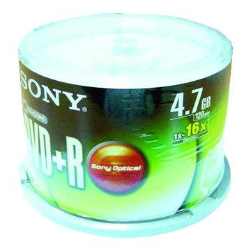 SONY 新力牌 16X DVD+R/4.7G50片+布丁桶