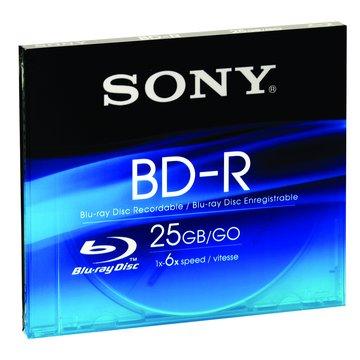 SONY 新力牌 藍光 1-6X BD-R/25G單片裝