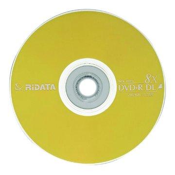 RIDATA 錸德  8X DVD+R DL/8.5G10片+布丁桶