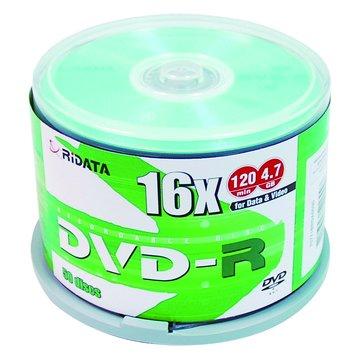 RIDATA  16X DVD-R/4.7G50片+布丁桶