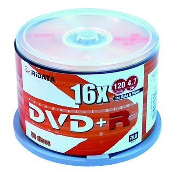 RIDATA  16X DVD+R/4.7G50片+布丁桶