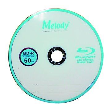Melody 美樂蒂 藍光6X BD-R DL/50G270min5片精裝