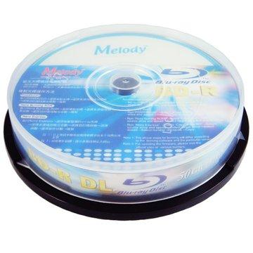 Melody 美樂蒂 藍光6X BD-R DL/50G270分10片桶裝