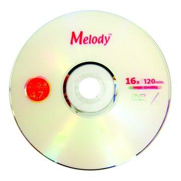 Melody 美樂蒂 16X DVD-R/4.7G50片+布丁桶