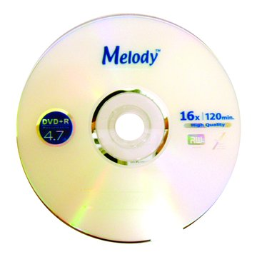 Melody 美樂蒂 16X DVD+R/4.7G50片+布丁桶