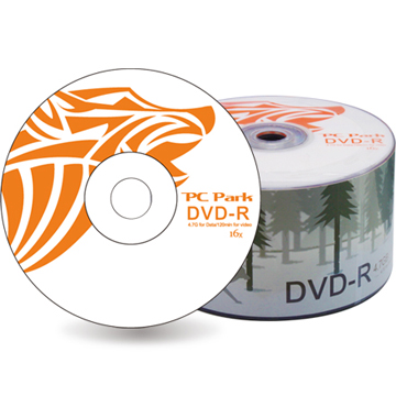 PC Park  獨行狼16X DVD-R/4.7G50片