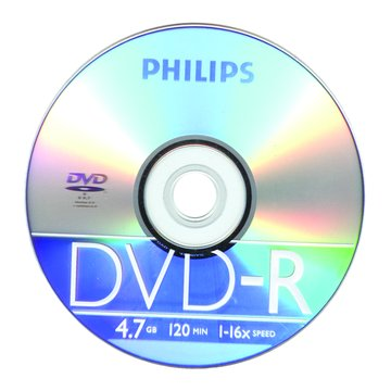 PHILIPS 飛利浦16X DVD-R/4.7G50片+布丁桶