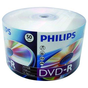 PHILIPS 飛利浦16X DVD-R/4.7G50片