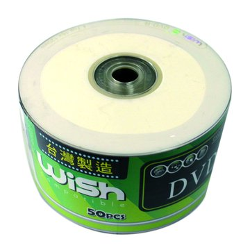Wish  16X DVD-R/4.7G50片