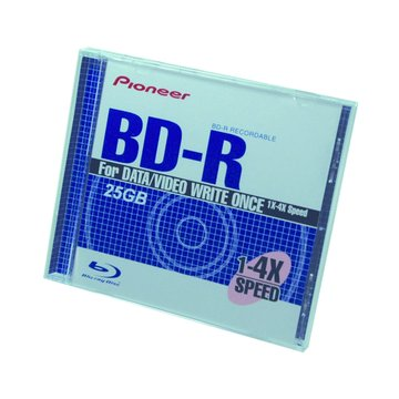 PIONEER 先鋒 藍光4X BD-R/25G130min單片裝