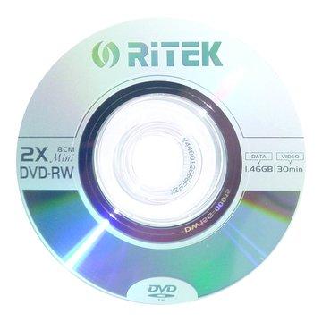RITEK 錸德8cm DVD-RW/1.4G單片裝