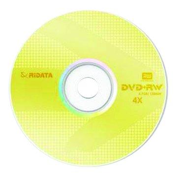 RIDATA 錸德  4X DVD+RW/4.7G10片+布丁桶