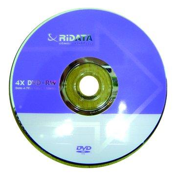 RIDATA 錸德  4X DVD-RW/4.7G單片盒裝
