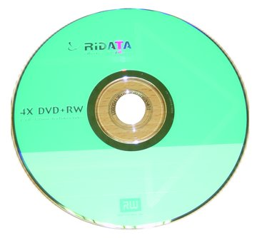 RIDATA 錸德 4X DVD+RW/4.7G單片盒裝
