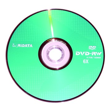 RIDATA 錸德  6X DVD-RW/4.7G單片裝