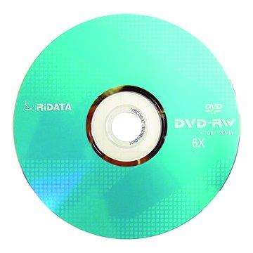 RIDATA 錸德 6X DVD-RW/4.7GB10片+布丁桶