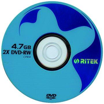 RITEK 錸德  2X DVD-RW/4.7G單片