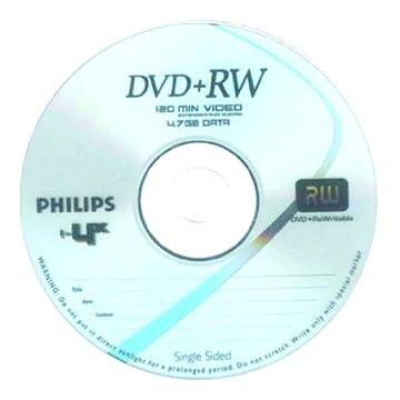 PHILIPS 飛利浦 4X DVD+RW/4.7G單片