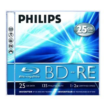 PHILIPS 飛利浦 藍光BD-RE/25G單片裝