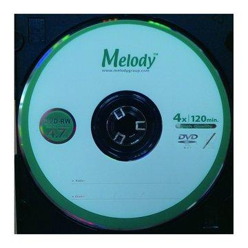 Melody 美樂蒂 4X DVD-RW/4.7G單片精裝