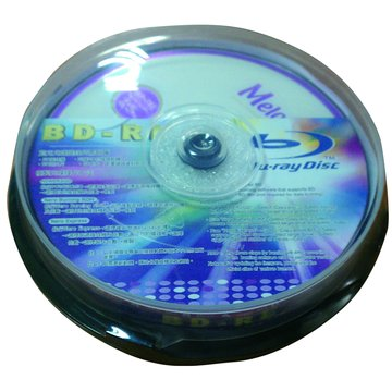 Melody 美樂蒂 藍光2X/BD-RE/25G10片布丁桶