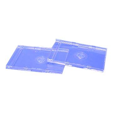 CD盒雙片5片裝(厚)-透明