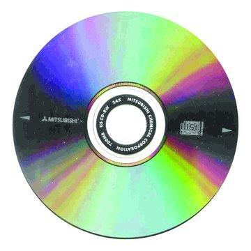 MITSUBISHI 三菱 三菱 80分24X CD-RW 單片盒裝