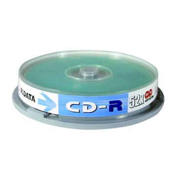 RIDATA 錸德  白金80分52X10片+原廠布丁桶