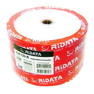 RIDATA 錸德  白金可印80分52X50片