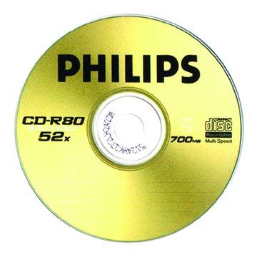 PHILIPS 飛利浦 白金80分52X50片+布丁桶