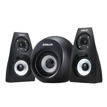 SANLUX 台灣三洋SYSP-313 /黑/三件式喇叭