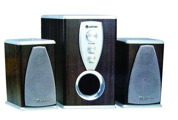 KINYO 金葉 KY-800A/尊爵木質三件式喇叭(福利品出清)