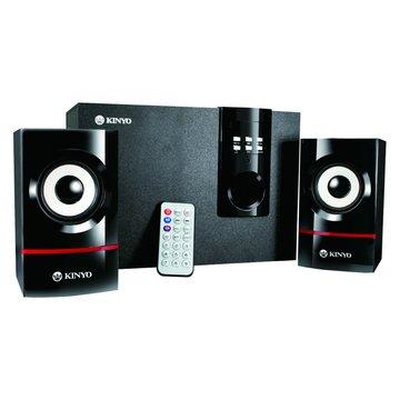 KINYO 金葉KY-7350/黑/MP3讀卡三件式喇叭