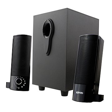 KINYO US-330/黑/三件式USB百變多媒體音箱