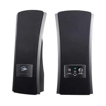 T.C.STAR 連鈺 TCS2285/黑/二件式喇叭/3W(AC供電)