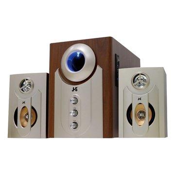 JS 淇譽 JY3002B/胡桃木/三件式喇叭/3200W(福利品出清)