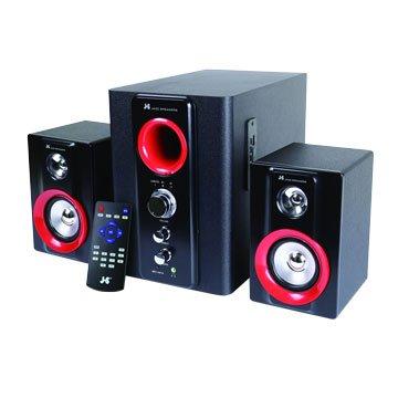 JS 淇譽JY3064/黑紅/三件式喇叭/2.1藍牙/5800W