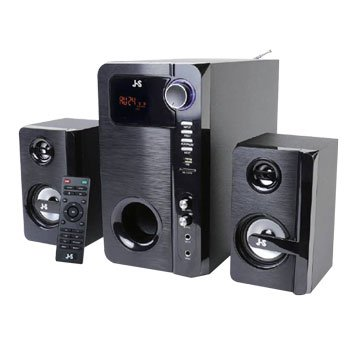 JS JY3071/黑/三件式喇叭/2.1藍牙/8200W