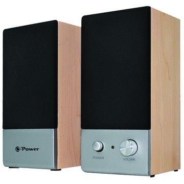 e-Power XE-203/櫸木/二件式喇叭(福利品出清)