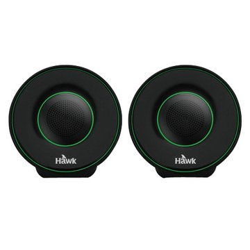 Hawk 鵰族 U605/綠/二件式喇叭