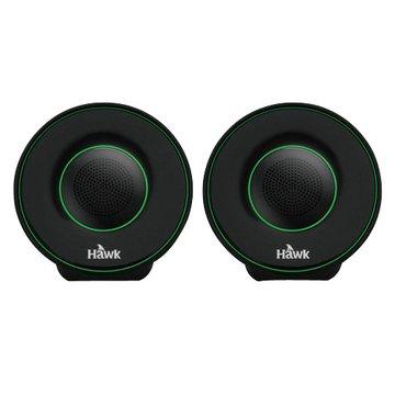 Hawk 鵰族 U605/綠/二件式喇叭(福利品出清)