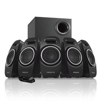 CREATIVE 創新未來 SBS A550/黑/六件式喇叭(福利品出清)