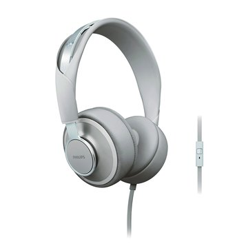 PHILIPS 飛利浦 SHL5605GY CitiScape頭戴線控耳麥(福利品出清)