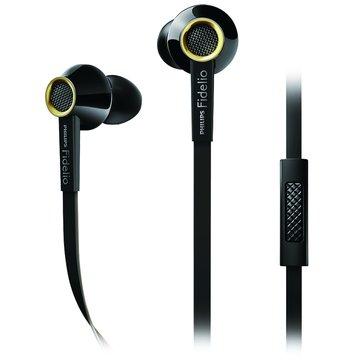 PHILIPS 飛利浦 Fidelio S2(黑)耳塞式耳麥(手機用)(福利品出清)