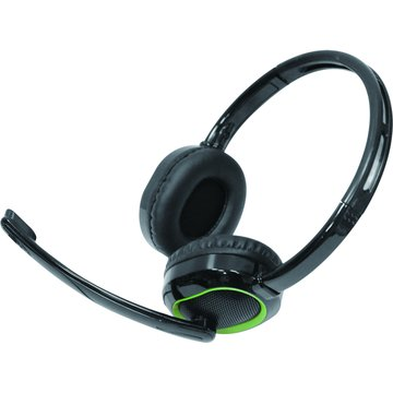PC Park C3(黑綠)頭戴式耳機麥克風