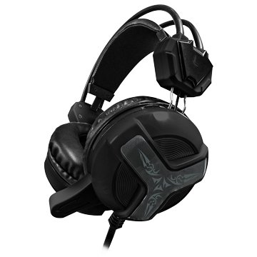 T.C.STAR TCE9030BK電競玩家頭戴式耳麥(黑)
