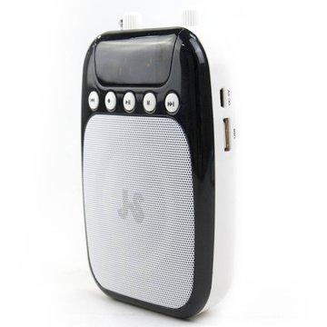 JS 淇譽 JSR-12充電式有線教學擴音機(黑)