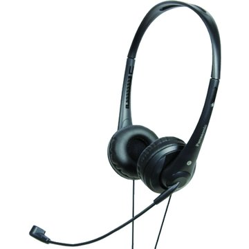 Panasonic 國際牌 HM111-B(黑)頭戴式耳機麥克風(福利品出清)