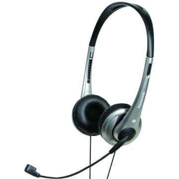 Panasonic 國際牌 HM111-S(銀)頭戴式耳機麥克風(福利品出清)