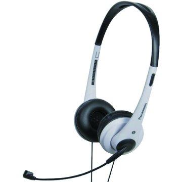 Panasonic 國際牌 HM111-W(白)頭戴式耳機麥克風(福利品出清)